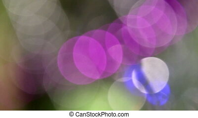 unfocused lights background - abstract motion background...