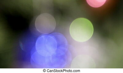 unfocused lights background