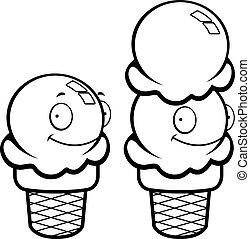 Ice Cream Smiling