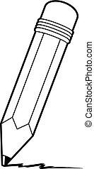 Cartoon Pencil