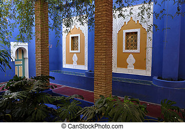 Jardin Majorelle, Marrakech, Morocco