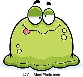 Drunk Little Booger - A cartoon illustration of a booger...