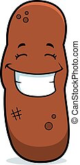 Cartoon Turd Smiling