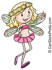 A cute fairy