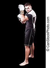 kickboxer, jovem