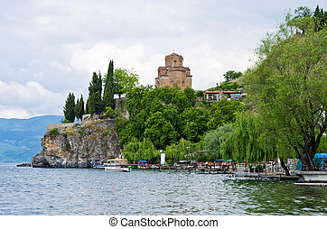 Church of St. John at Kaneo - Ohrid, Macedonia - Church of...