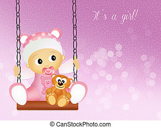 Birth announcement Illustrations and Clip Art. 12,651 ...
