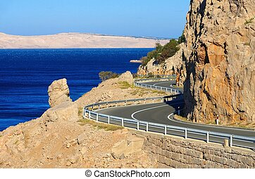 coast road croatia