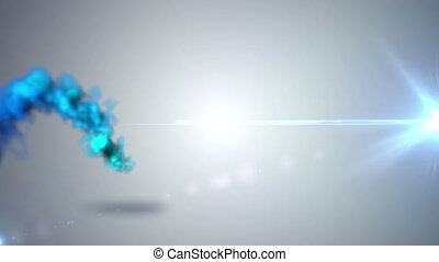 Flying abstract smoke - High quality and resolution