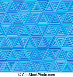 Seamless blue colorful Triangulate Pattern - Illustration of...
