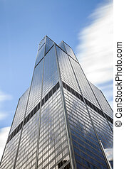 Sears Tower, Chicago, USA - Sears Tower - the highest...