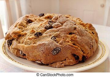 Irish Soda Bread Loaf - A freshly baked loaf of Irish Soda...
