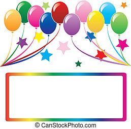 balloonbackground4 - 10 colorful balloons can be used for...