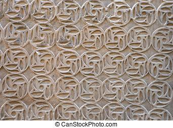 Stock fotografie von maurisch stil hintergrund stuck for Dekoration spanien