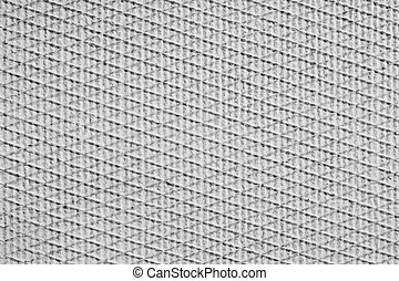 Diagonal lines in fabric texture or background