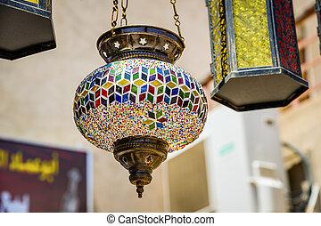 Market Nizwa Oman - Craft on the market in Nizwa, Oman
