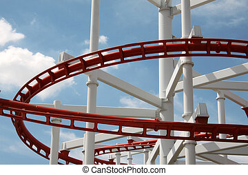 Fabrication - Structure of the coaster in the amusement.