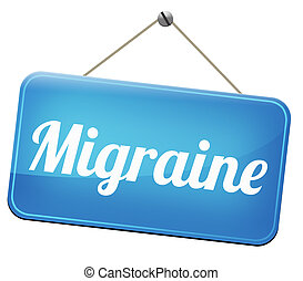 migraine acute or chronic headache need for painkiller or...