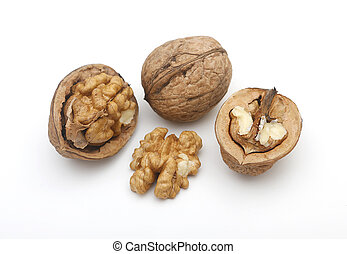 Nuts at different angles