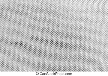 Spots and diagonal lines in fabric texture or background