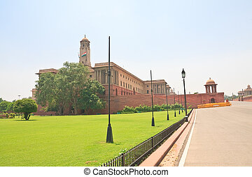 Residence of the President of India. New Delhi