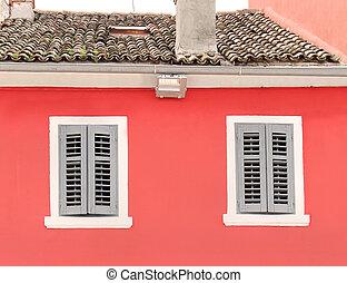 antigas, janelas,