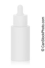 Cosmetic Bottle Mock - Up - Cosmetic bottle with a dropper...