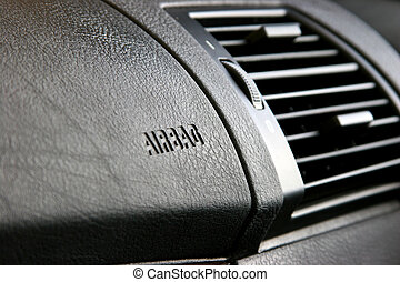 Passenger side airbags - Airbags in a passenger seat, front...
