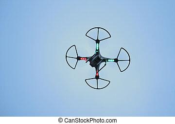 Quadcopter - A quadcopter, also called a quadrotor...