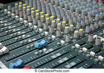sound mixer - professional sound mixer in the recording...