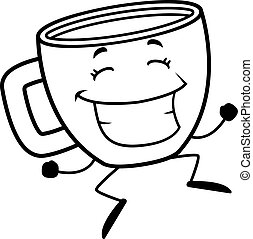 Coffee Cup Jumping