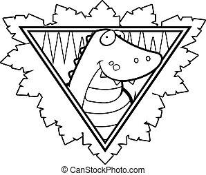 Crocodile Safari Icon