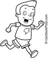 Children running Vector Clipart Royalty Free. 2,548 ...