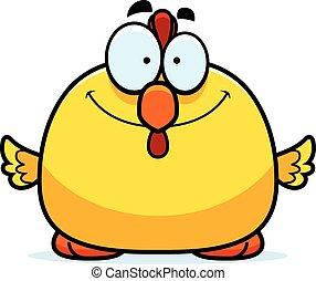 Smiling Little Chicken