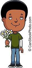 Teen Boy Flowers