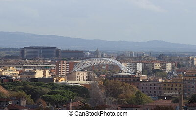 Lazio Building - Rome overview with the Lazio Government...