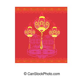lanterns will bring good luck and peace to prayer during Mid-Aut