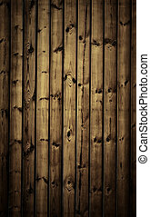 Wooden planks - Striped textured wooden planks, natural...