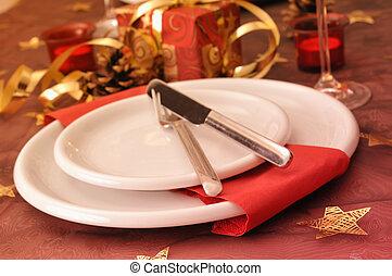 Christmas dinner - Dinner at christmas day