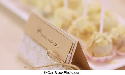 Candy bar - Table with different wedding sweets