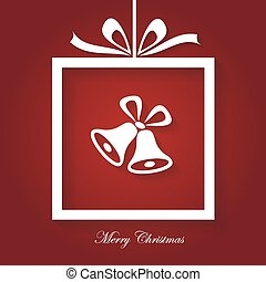 Merry Christmas Card - Simple Merry Christmas Card, modern,...