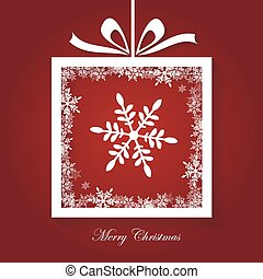 Merry Christmas Card - Simple Merry Christmas Card, modern,...