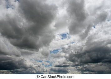The Sky and clouds. - Clouds.Timelapse.