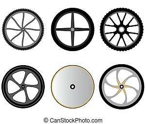 bicycle wheels without spokes