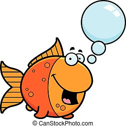 Talking Cartoon Goldfish