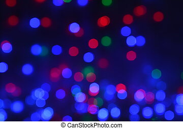 Celebration bokeh lights background - Celebration bokeh...