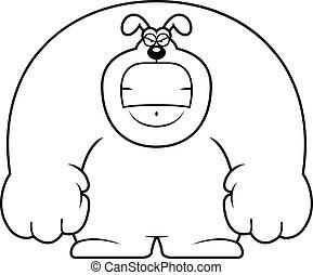 Angry Cartoon Dog