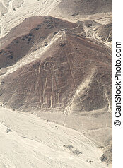 Nazca, Peru - Astronaut - Unesco Heritage: Lines and...