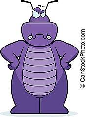 Cartoon Bug Angry