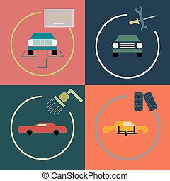 Car repair services in the four icons association
